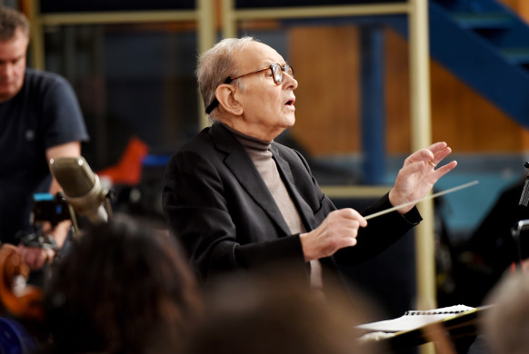 "Ennio Morricone - Live Recording ""H8ful Eight"" Soundtrack - Day 1"